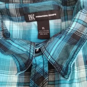 Inc long sleeve button up